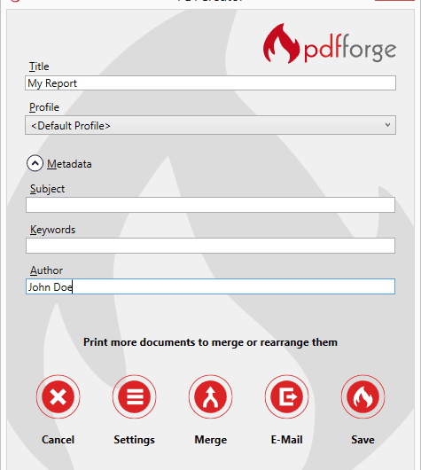 تحميل برنامج PDF Creator لصناعة ملفات pdf