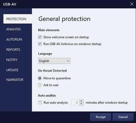 برنامج USB-AV Antivirus