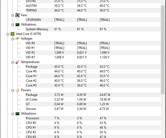 تحميل  برنامج HWMonitor  لقراءة درجة حرارة الكمبيوتر